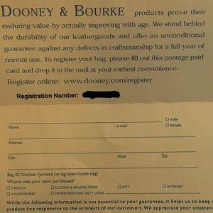 Dooney & Bourke Bags - Dooney & Bourke Cross Body Purse
